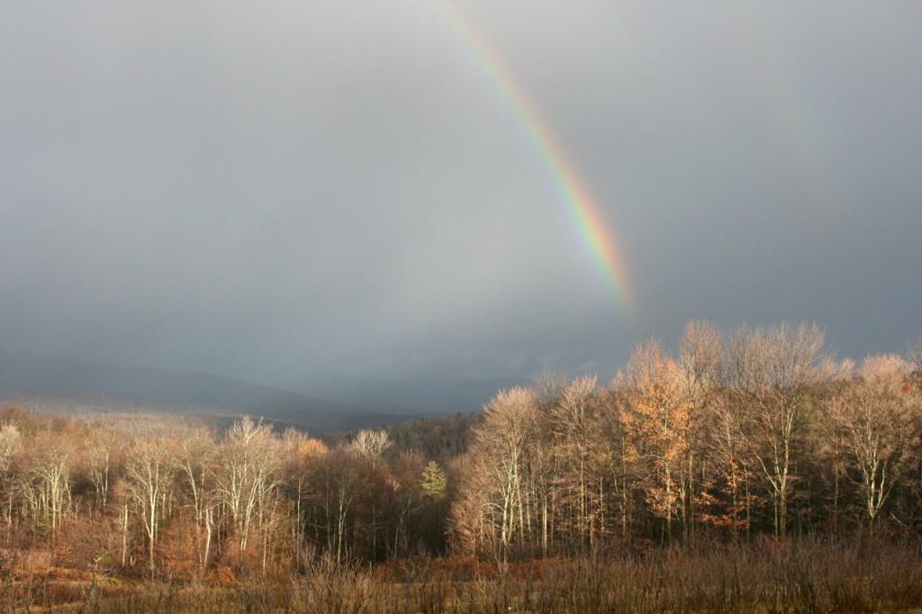 Cloud Mountain Rainbow