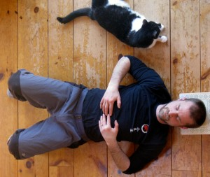 Figure 4: You relax, cat relaxes.
